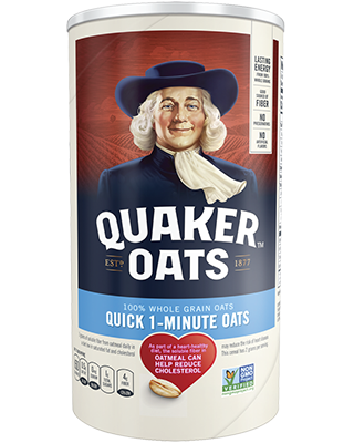 Quaker® Quick 1-Minute Oats
